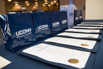 Neag School Alumni Awards on Table 2016