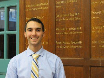 James Dinello; Queen Elizabeth's School, London; Integrated Bachelor's/Master's Program; teacher