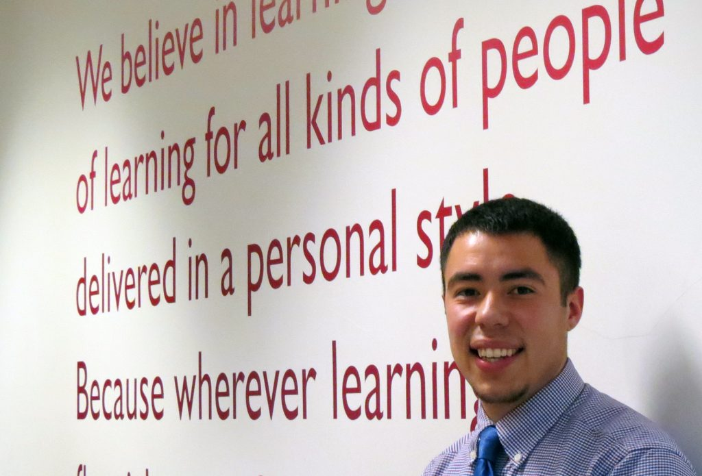 Orlando Valentin; London Teaching Internship Program
