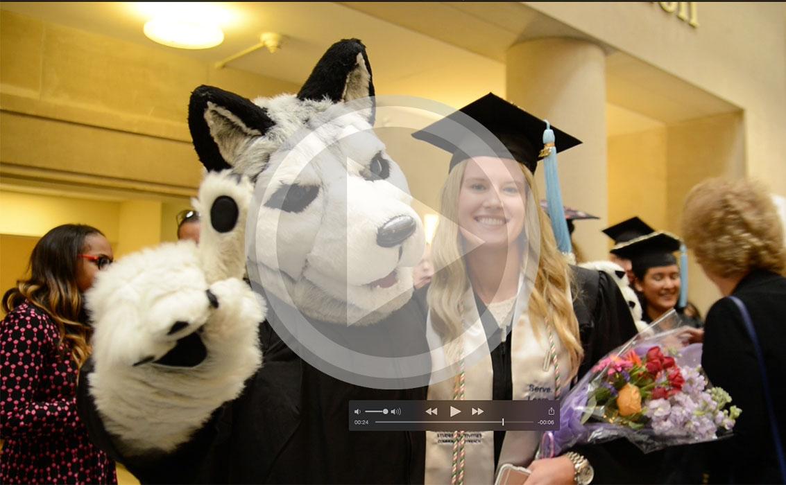 Best Scenes: Undergrad Commencement
