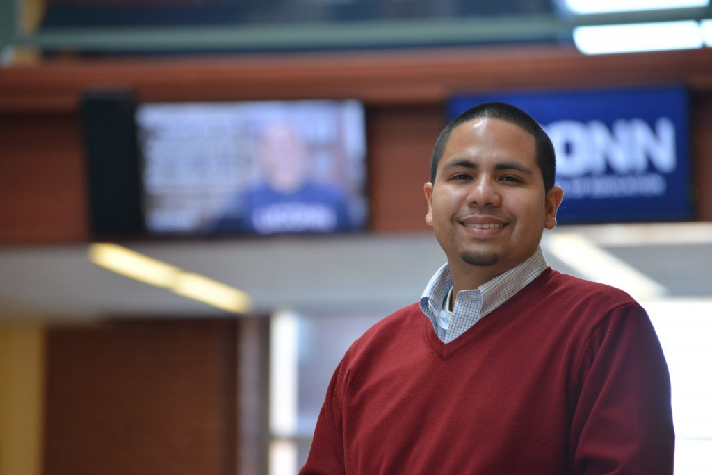 DDS; Dean's Doctoral Scholar; Neag School of Education at UConn; Ph.D. student Robert Cotto Jr