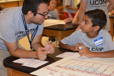 Luis Organista; TCPCG; Teacher Certification program; STEM camp; Norwich Free Academy