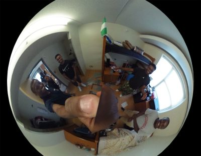 Scholars House; Reuben Pierre-Louis; Theta 360 view; UConn Learning Community; African American Men