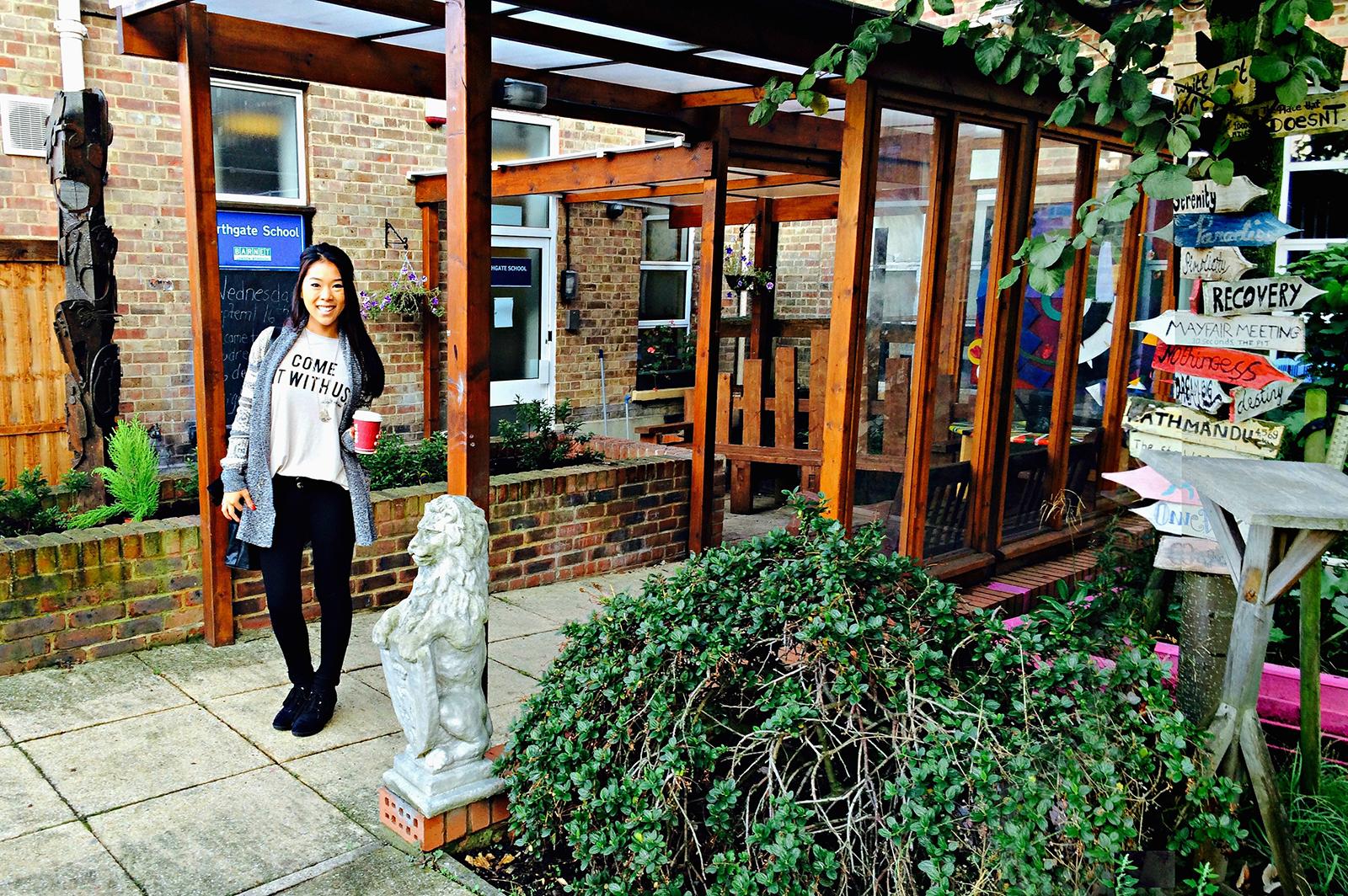 Northgate School; Grace Healey; Special Ed; London Teaching Internship Program Study Abroad