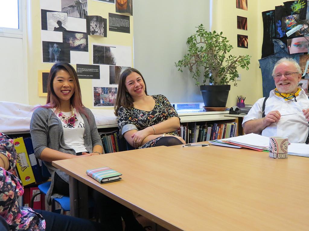 Grace Healey; Audrey Kelley; Northgate School; London Study Abroad Teaching Internship