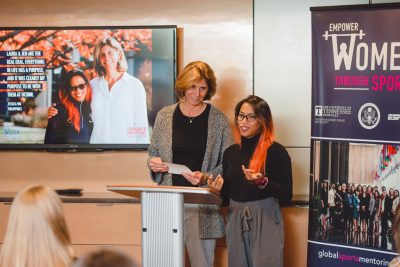 Jessica Wu; Laura Burton; Global Sports Mentoring Program
