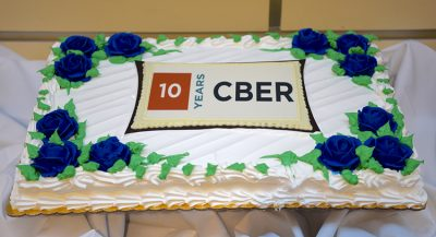 Cake from CBER's 10th Anniversary