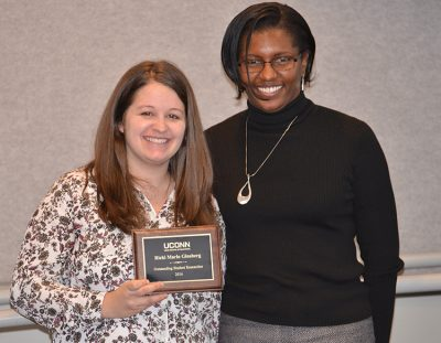 The Neag School of Education awarded the 2016 Research Awards during the Dec. 2, 2016 faculty/staff meeting.