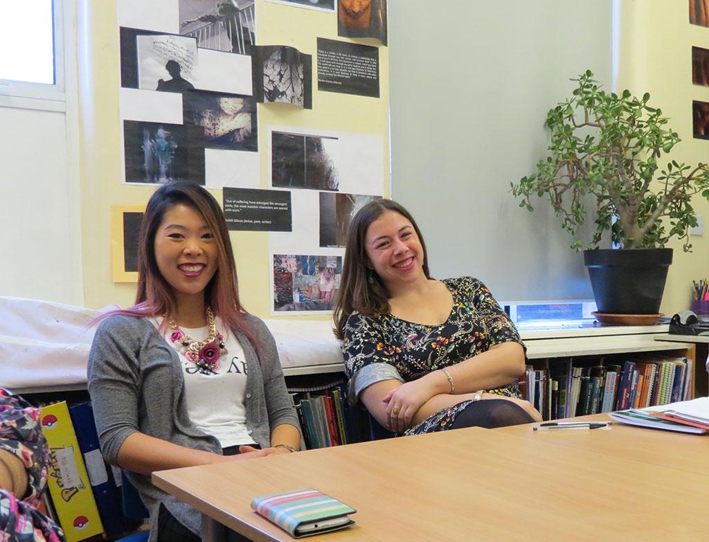 Grace Healey; Audrey Kelley; Teaching Internship Program; London; Rooks Heath