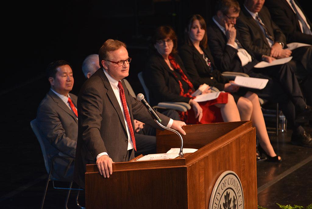 Del Siegle Keynote at University Scholars Day
