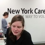 Brittany Agne at New York Cares Office