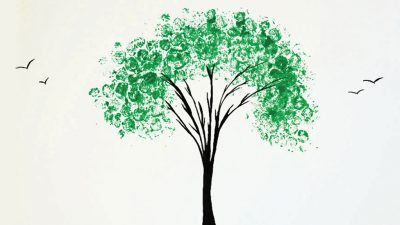Alumni Awards 2017 Invitation Tree Image