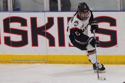 Marisa Maccario Playing UConn Women's Ice Hockey