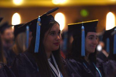 Commencement 2017 Graduate at Jorgensen