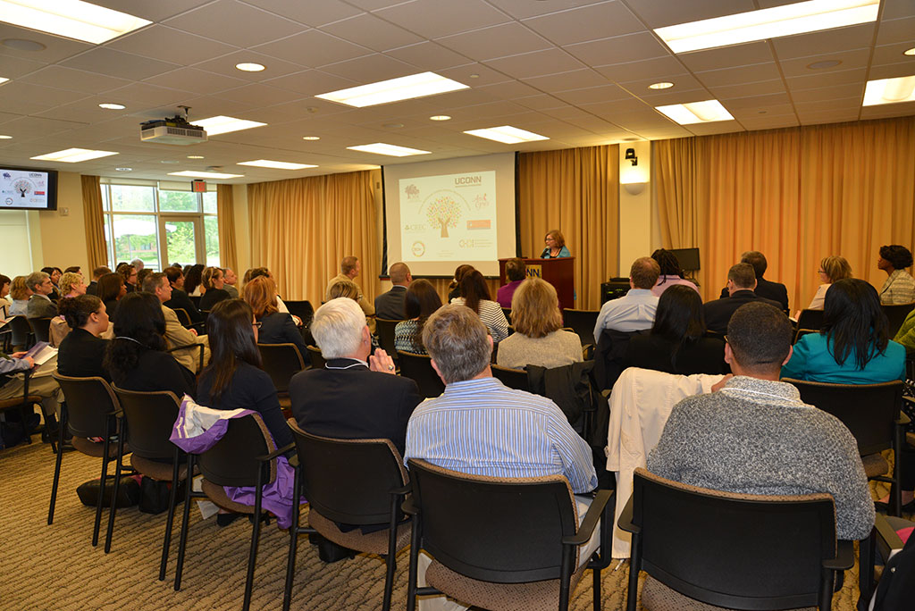 Commissioner Dianna Wentzell speaks at Trauma Symposium