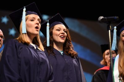 National Anthem Singers Commencement 2017
