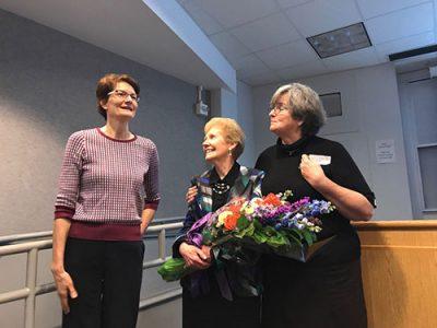 Dorothea Anagnostopolous, Mary Ann Doyle, and Suzanne Wilson