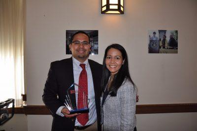 Robert Cotto and Hartford's superintendent, Leslie Torres-Rodriguez