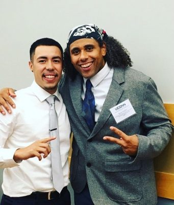 Diversity Dinner's keynotes Orlando Valentin and Ryan Parker