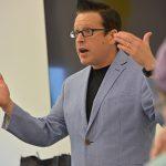 Ron Beghetto teaches a class for the Innovation House on Aug. 28, 2017.