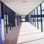 Empty school corridor (ThinkStock image)