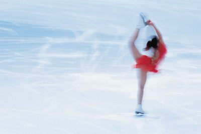 Figure skater on ice (ThinkStock)