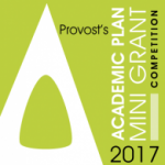 2017 Provost's Academic Plan Mini Grant Competition Logo