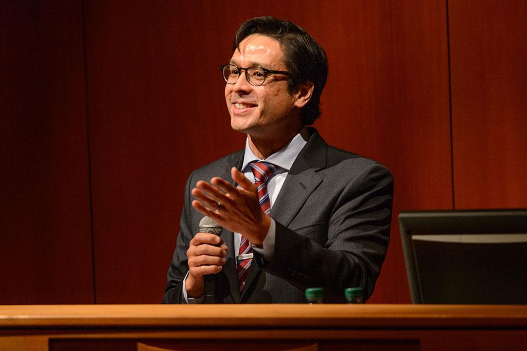 Glenn Mitoma at Dodd Center