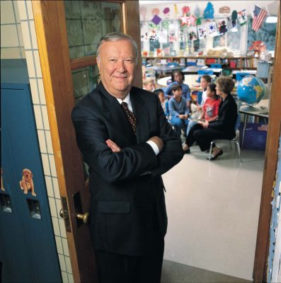 In 1999, the University of Connecticut's School of Education was renamed to honor Ray Neag, a visionary and savvy businessman who believed investing in education would yield the greatest of returns: a brighter future for our children.