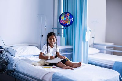 Child in hospital (Thinkstock image)