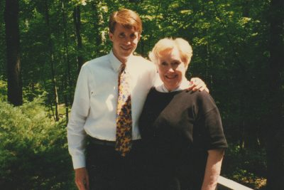 Martin and Vivienne Litt gather at their family home. (Photo courtesy of Martin Litt)