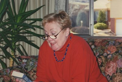 The late Vivienne Dean Litt served as the assistant director of the UConn's former University Program for Students with Learning Disabilities. (Photo courtesy of Martin Litt)