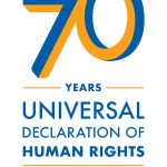 Universal Declaration of Human Rights (UDHR) 70th Anniversary Celebration Logo