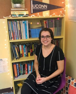 Alumna Jessica Stargardter '16 (ED), '17 MA has been named by the Neag School of Education as the recipient of the 2019 Rogers Educational Innovation Fund award. Stargardter serves as a gifted and talented educator for Norwalk (Conn.) Public Schools. (Photo courtesy of Jessica Stargardter)