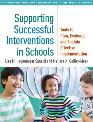 Book cover: Supporting Successful Interventions in Schools.