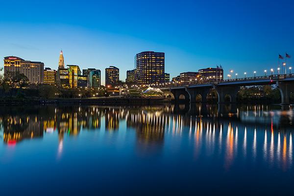 Hartford, Conn., skyline