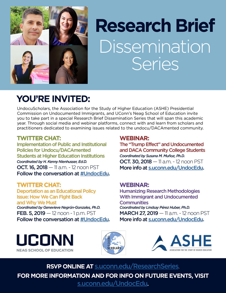 2018-19 Research Brief Dissemination Series Flyer