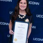 Victoria Schilling at the 2019 Alumni Awards