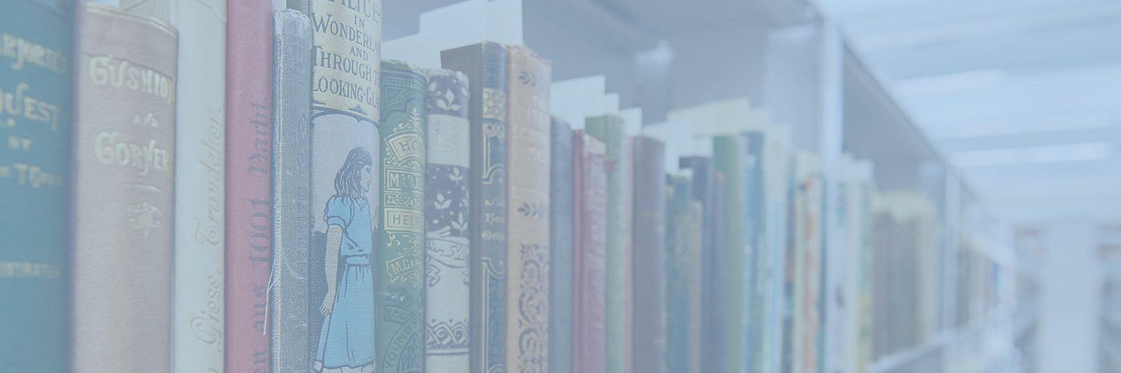 Rare Books on Shelf