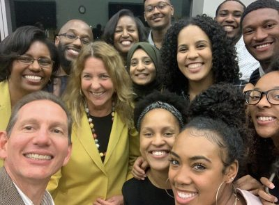 Students and faculty at 2019 Diversity Dinner