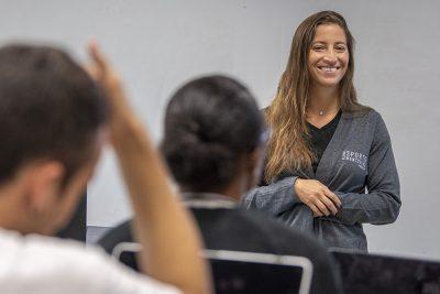 Karen Chammas of the Global Sport Mentoring Program
