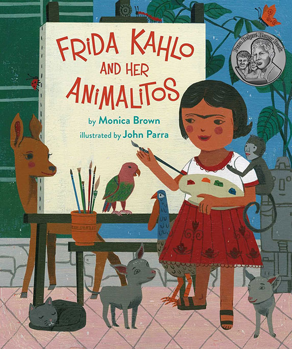 Book cover of Frida Kahlo and Her Animalitos