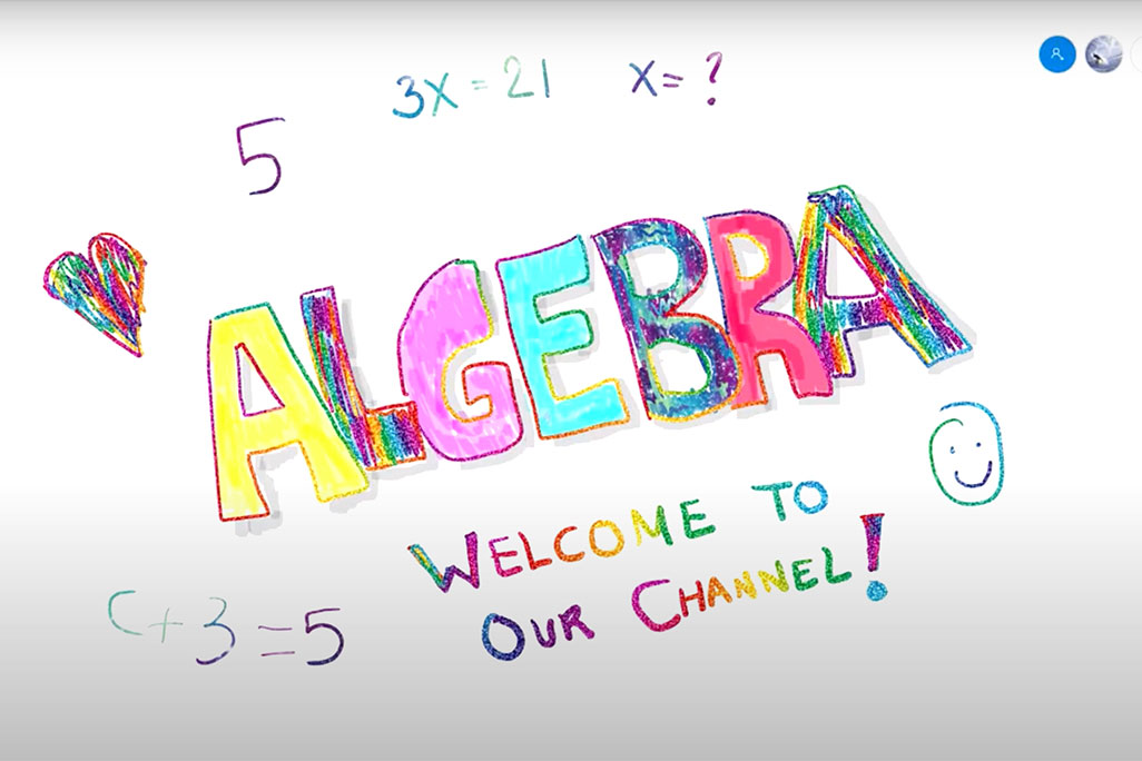 Algebra for Kids: YouTube Lessons by UConn Math Professor Álvaro Lozano-Robledo