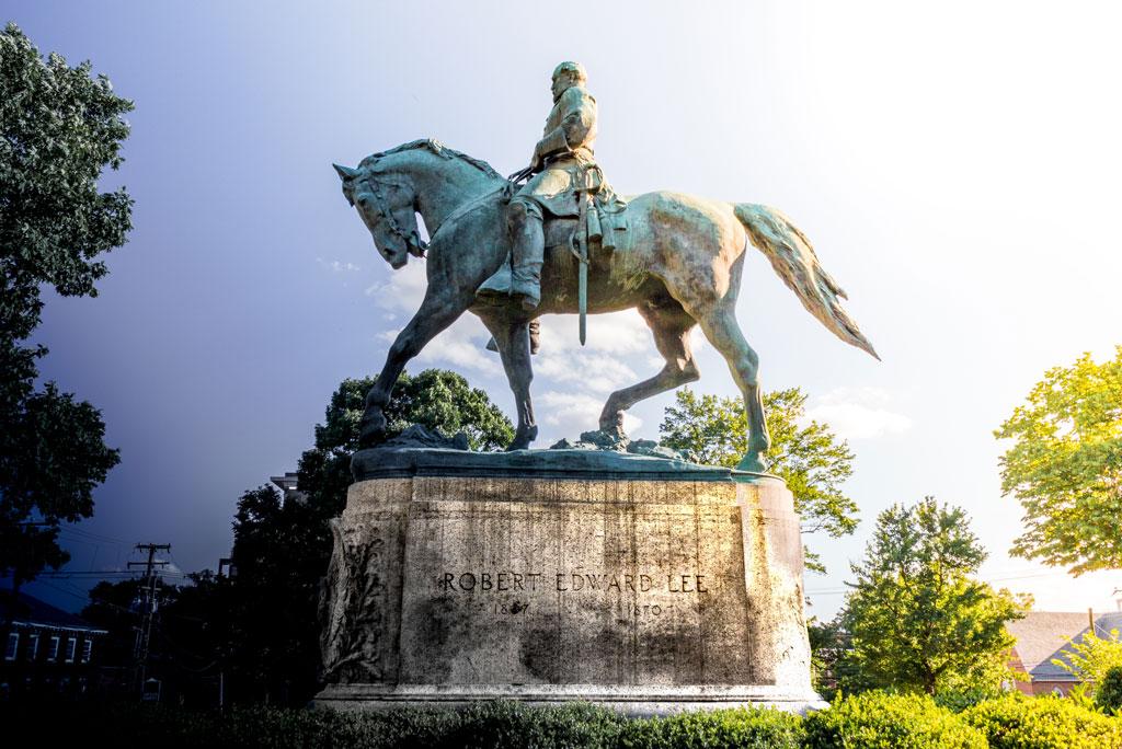 Statue of Robert E. Lee.