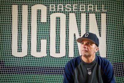 UConn Baseball Coach Jim Penders.