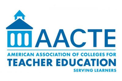 AACTE logo: The American Association of Colleges for Teacher Education.