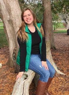 Elizabeth Canavan, 2021 Alumni Board Scholarship recipient.