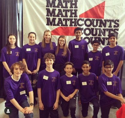 Enrique with math students.