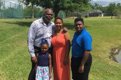 Sylvester Kent Butler with his family.