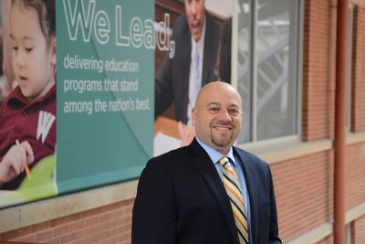Jason Irizarry, Interim Dean, among the new appointments at the Neag School.